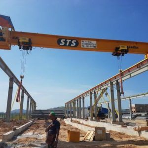Single Girder Electronic Overhead Travelling Crane