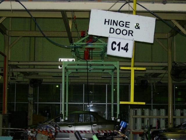 Custom Design Car Chassis Hanger System for Civic Model at Melaka-1