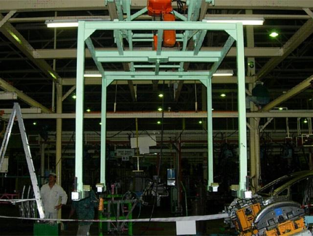 Custom Design Car Chassis Hanger System for Civic Model at Melaka