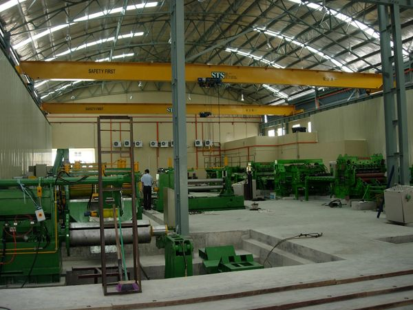 Single Girder Electrical Overhead Travelling Crane Malaysia