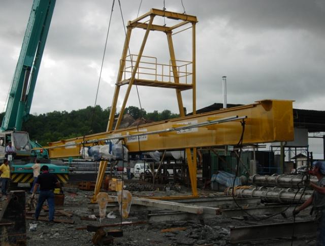 Gantry Crane Installation-1