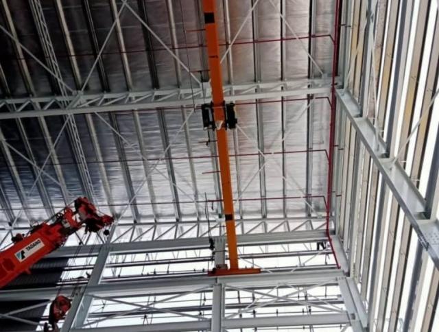 Single Girder High Lifting Crane