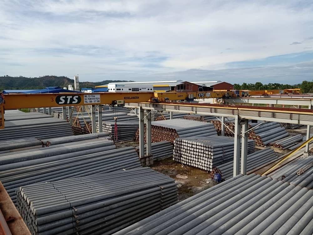 Storage Yard Overhead Cranes