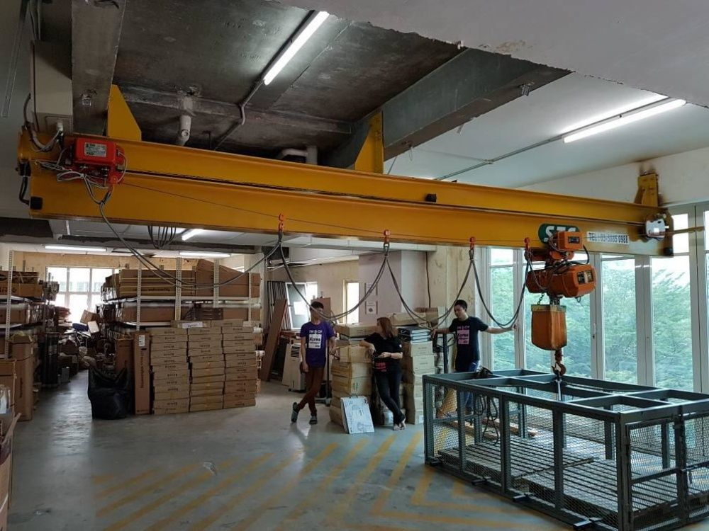 Telescopic Monorail System